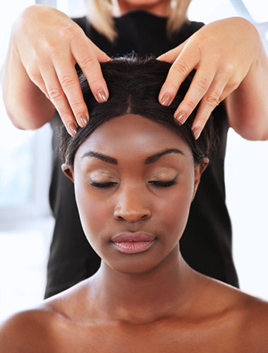 Indian Head Massage therapy for corporate environments