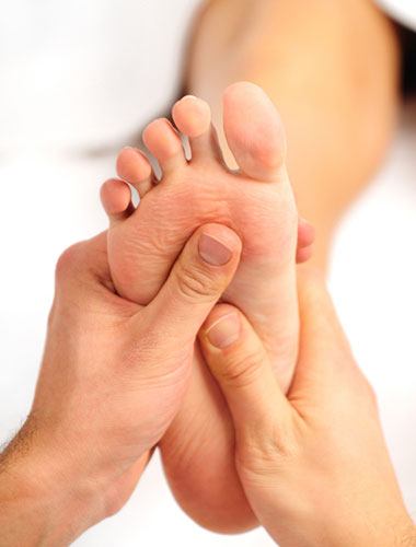 Reflexology treatments for the workplace
